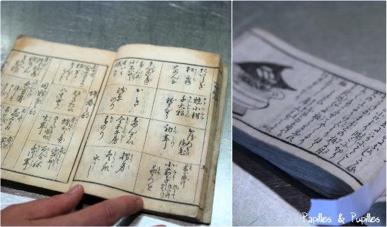 Des livres de cuisine - Epoque Edo