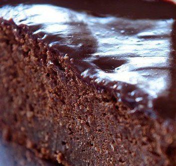 Gâteau au chocolat sans lait sans gluten ©Frédéric Vasseur