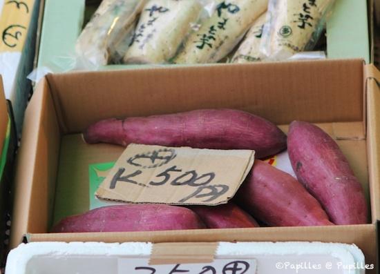 Patates douces - Marché de Tsukiji