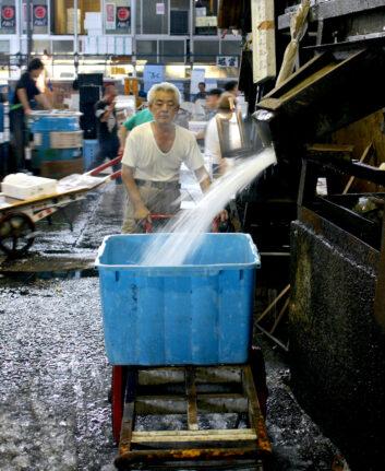 Tsukiji ©Baptiste Michaud CC BY-NC 2.0
