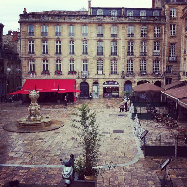 Place du parlement, Bordeaux, France