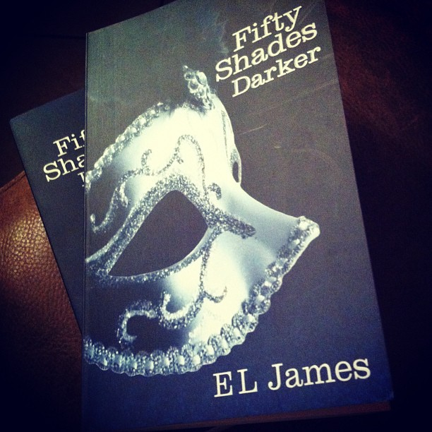 Fifty shades of grey. I couldn't resist it !
