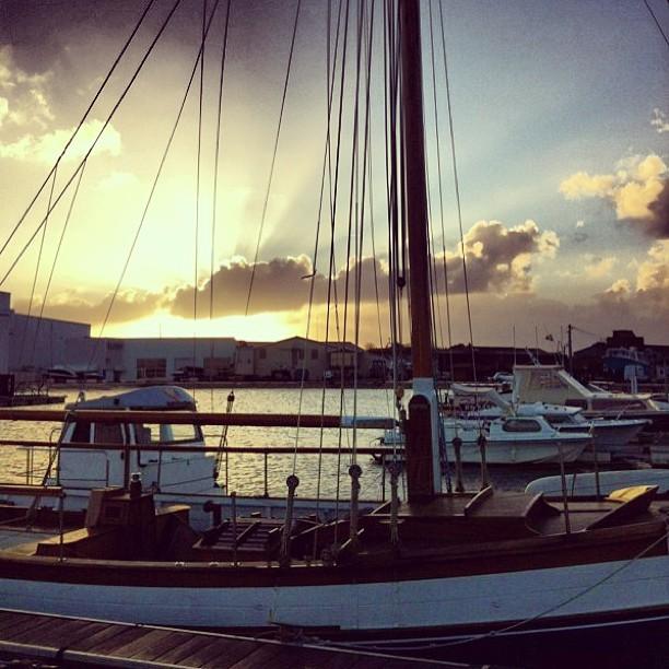 Sunrise - Lever du soleil / Bassin d'Arcachon - France