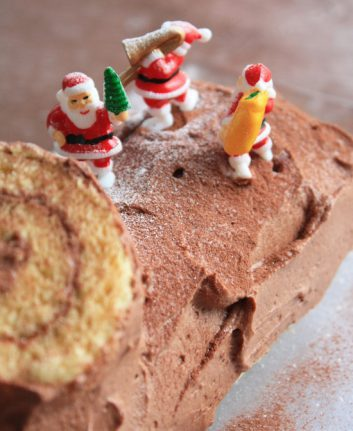 Bûche au chocolat ©shok CC BY-NC-ND 2.0