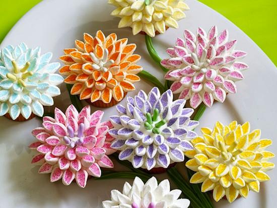 Les 15 Plus Beaux Cupcakes Facon Fleurs