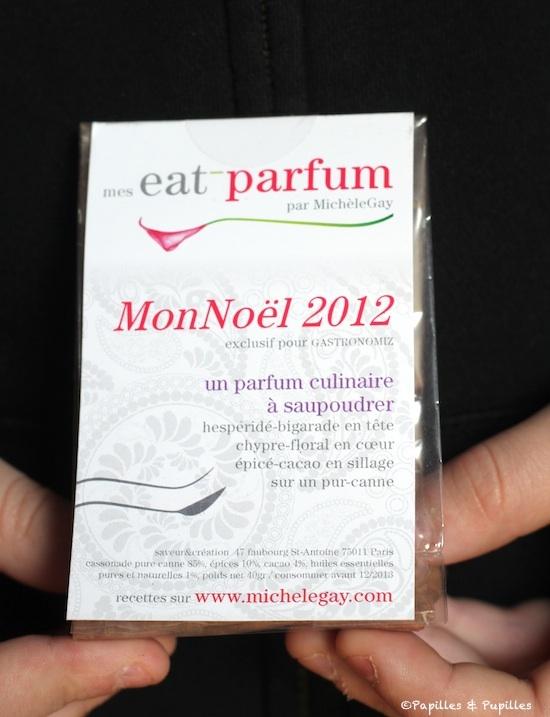 Eat Parfum - Parfum culinaire -  Mon Noël 2012