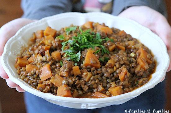Lentilles la marocaine - Recette comment cuisiner les lentilles ...