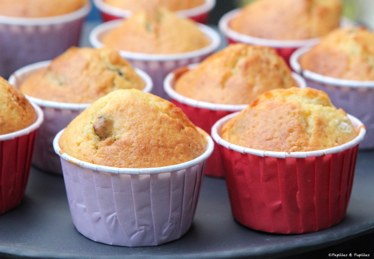 Muffins rhum raisin