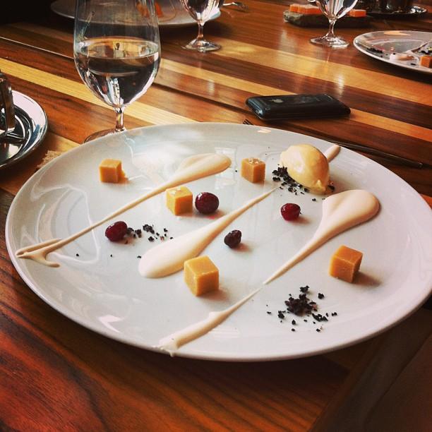 Le Toqué, Montréal - dessert : le sucre à la crème
