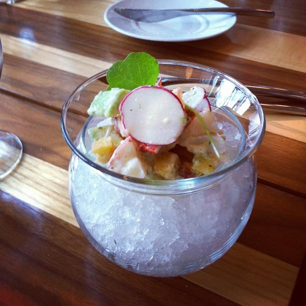 Le Toqué - Montréal - tartare de homard avocat et pamplemousse