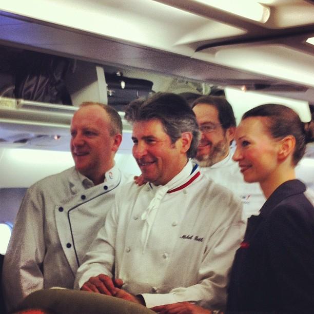 Michel Roth - Le Ritz, cuisinier aux multiples récompenses (bocuse d'or, MOF) a conçu les repas de la business class d air France