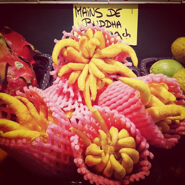 Citrons Main de Buddha - marché Jean Talon, Montréal