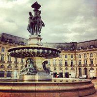 Les 3 Grâces, place de la Bourse, Bordeaux
