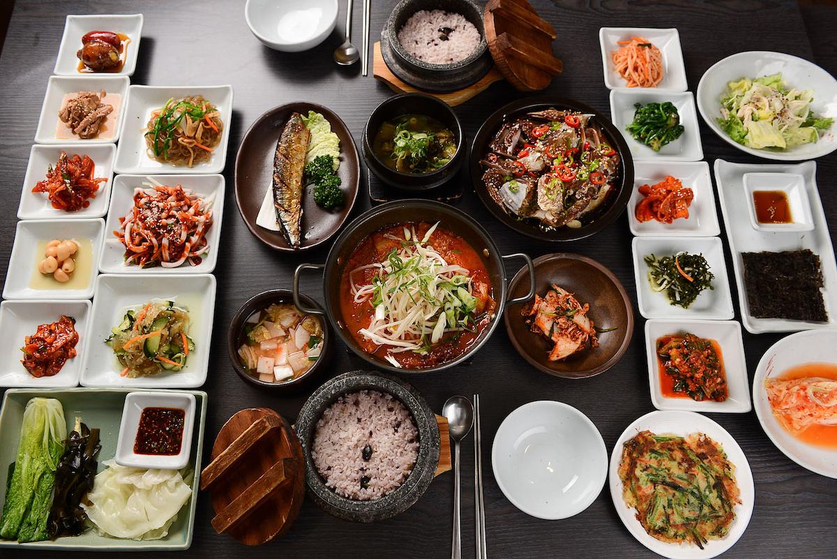 A table en Corée ©TMON shutterstock