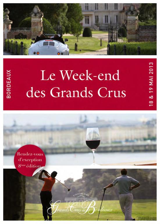 Bordeaux - Le Week-end des grands crus 2013
