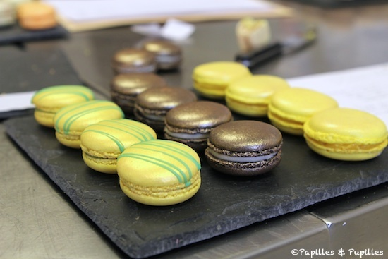Les macarons gagnants