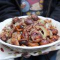 Poêlée de fenouils et châtaignes, rôtis au beurre