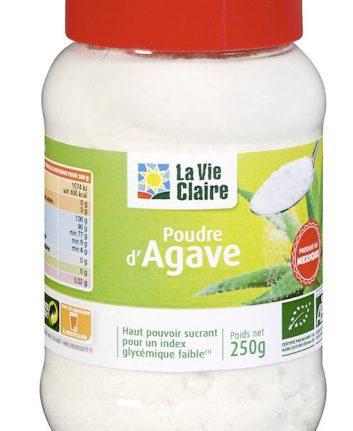 Poudre d'agave bio de La Vie Claire