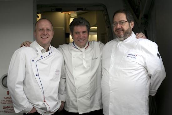 Roger Passet, Michel Roth et Michel Quissac