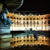 Place de la Bourse By Night #Bordeaux