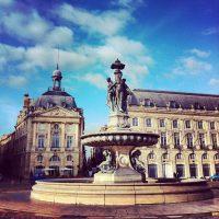 Grand beau temps aujourd'hui - Place de la Bourse, Bordeaux