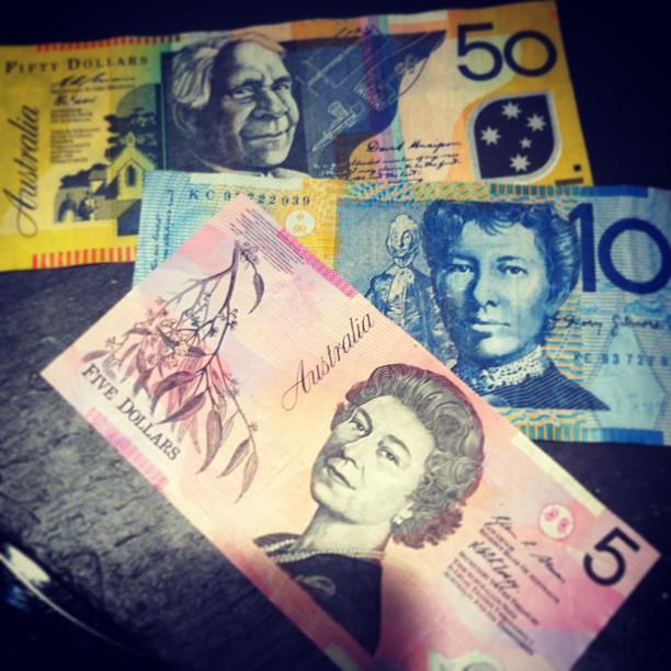 Dollars australiens