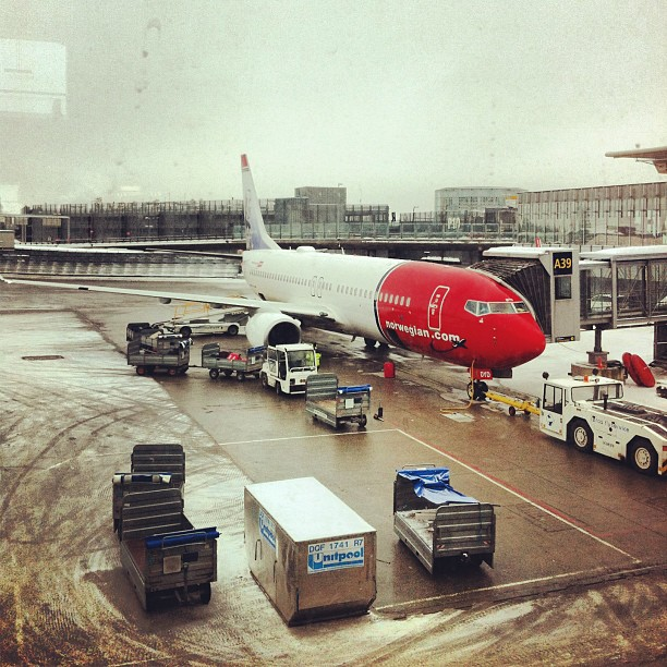 Leaving Oslo to Stockholm