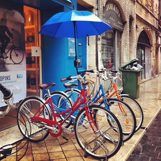 Parapluie pour vélo