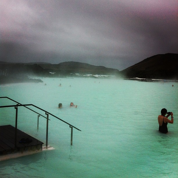 Blue Lagoon - Bains entre 37 Et 40 degrés - juste exceptionnel