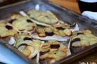 Dorades royales en écailles de pommes de terre