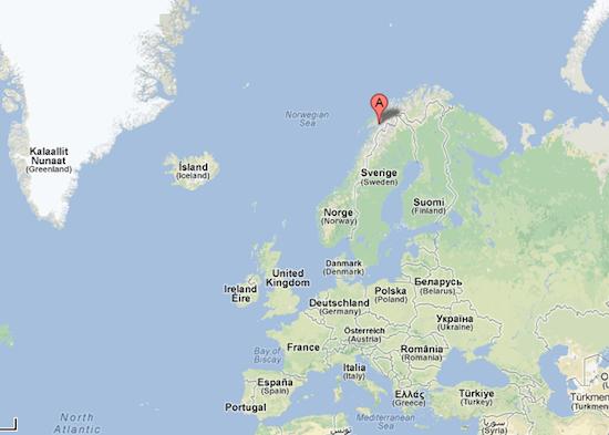 Harstad - Narvik Airport, Evenes, Norvège