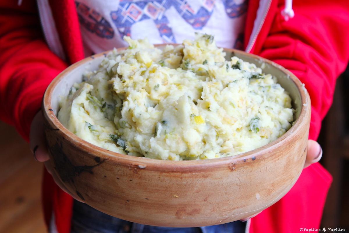 Purée de pommes de terre au chou - Colcannon