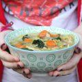 Soupe aux légumes et poulet de Jamie Oliver