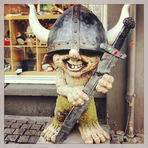 Troll - Reykjavik