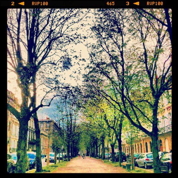 Spring time - cours Arnozan, Bordeaux