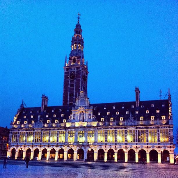 Bibliothèque et carillon - Louvain