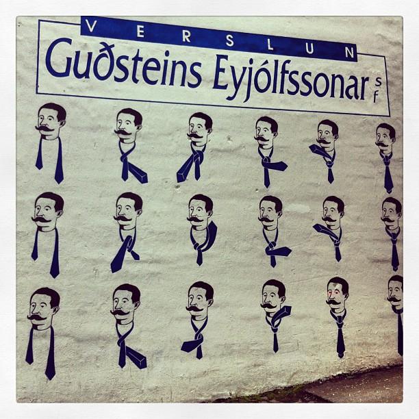 Comment nouer sa cravate ?  Reykjavik