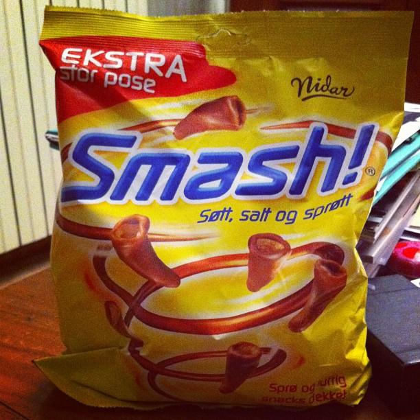 Smash ! Chips norvégiennes au chocolat