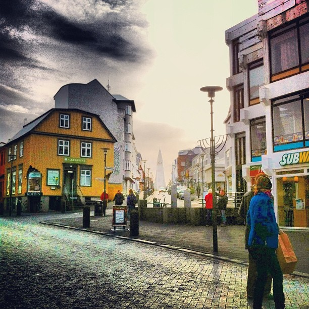 Reykjavik - centre ville