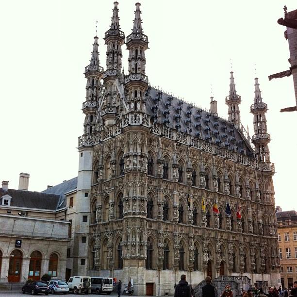 Hôtel de Ville, Louvain, Belgique