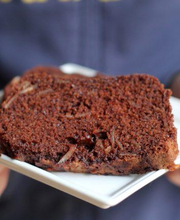 Cake au chocolat hyper moelleux