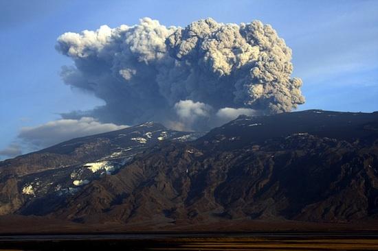 Eruption - Eyjafjallajökull ©Söring lience CC BY-NC 2.0