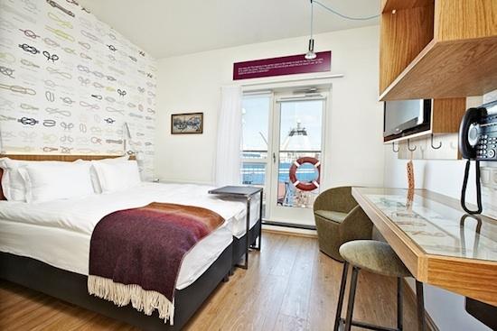 Hotel Reykjavík Marina Attic room