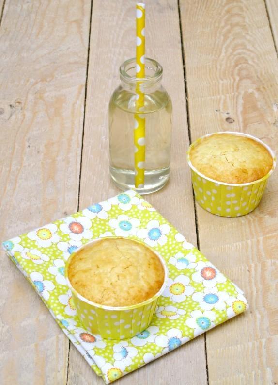 Muffins chocolat blanc et citron