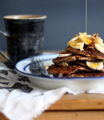 Pancakes Banana Bread sans gluten ©Sarah Britton- My New Roots