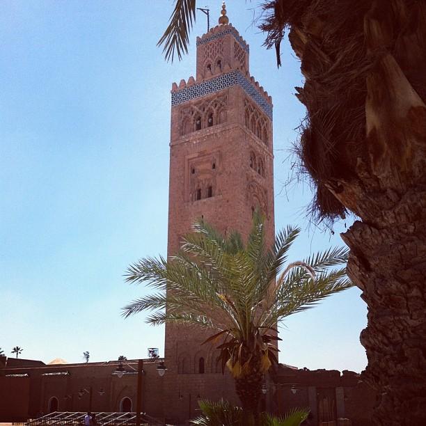 Minaret de la Koutoubia, Marrakech