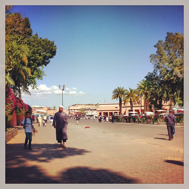 Place Jemma el Fna, Marrakech