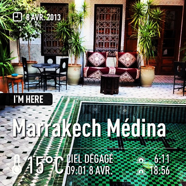 Riad - #marrakechmédina #maroc