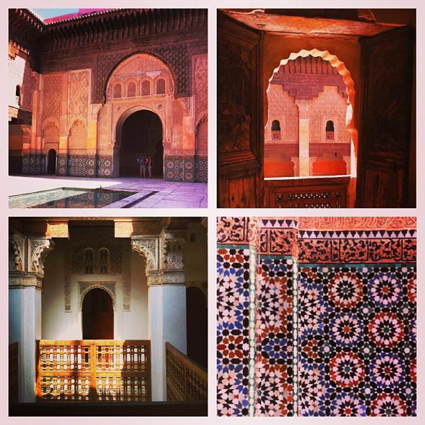 Medersa Ben youssef, Médina, Marrakech
