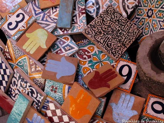 Carte postale de marrakech - Carreaux ciment pas cher ...